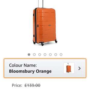 Antler Bloomsbury suitcase £7 delivered Dispatched from and sold by Antler Ltd - Amazon