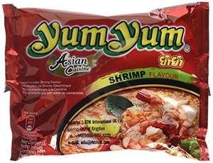 Yum Yum Instant Noodles Shrimp 60 g (Pack of 30) £6.90 prime / £11.65 non prime @ Amazon - Temporarily out of stock