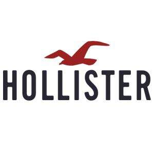 40% off selected mens/womens items + free delivery + £10 off £40 e.g. 3 x Mens T shirts + 2 x Mens Tops = £32 delivered @ Hollister