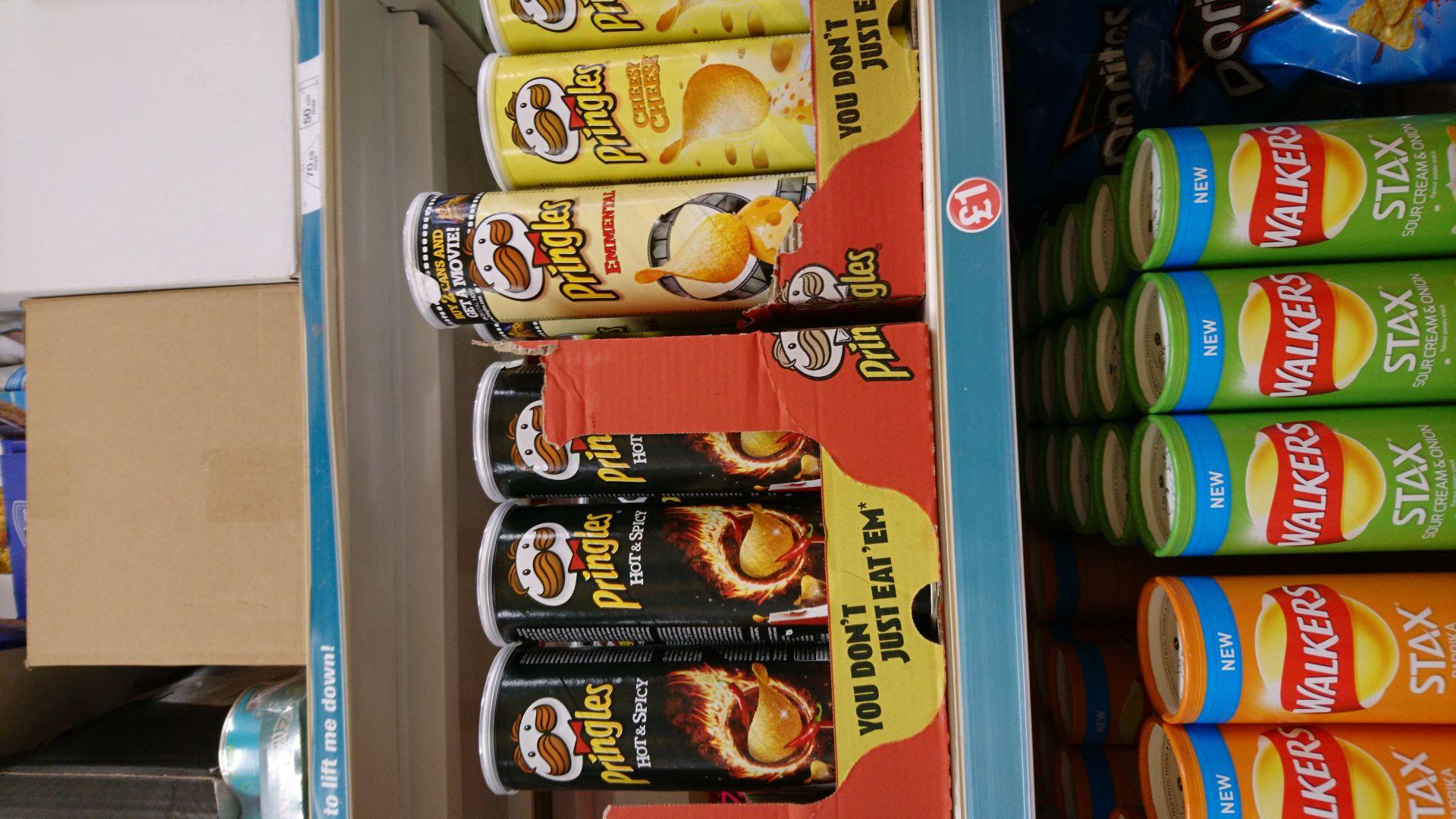 Various pringles flavours £1 @ poundland