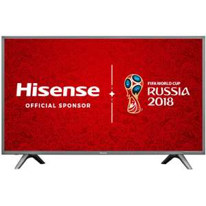 "Hisense H60NEC5600 60"" Freeview HD & Freeview Play Smart 4K Ultra HD with HDR TV £539 @ AO"