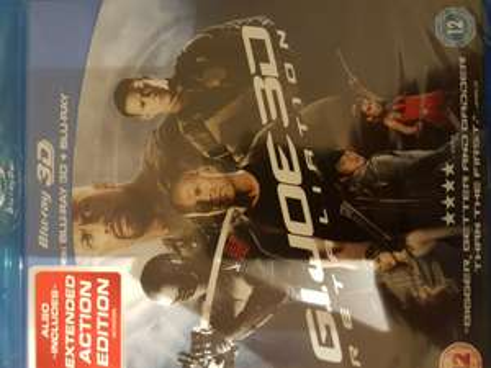 GI Joe Retribution 3D Blu Ray £1 in Poundland