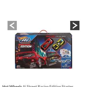 Hot Wheels Ai Street Racing Edition Starter Trackset £49.99 @ Very