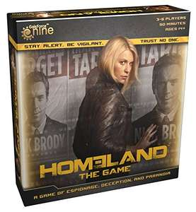 Homeland boardgame £5.69 delivered from Amazon BuySend