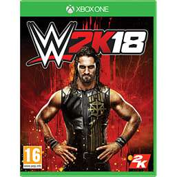 WWE 2K18 (PS4/XO) Inc Seth Rollins - Building The Architect (DVD) £29.99 Instore @ GAME