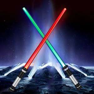 Star Wars style Double Sided RGB 2PCS Light Saber £6.93 @ GearBest