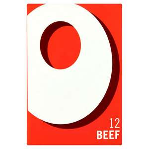 Tesco Oxo 12 Beef OR Chicken Stock Cubes 71G 75p