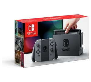 Nintendo Switch Console - Grey  £279.99 @ Argos + Possible 6% Quidco makes it £263.20