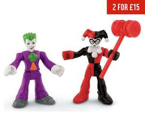 Fisher-Price Imaginext DC Super Friends Figure Assortment Now £5.50 @ Argos