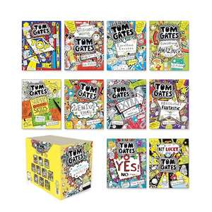 A 10 book set of Tom Gates books by Liz Pichon £15.99 @ Scholastic