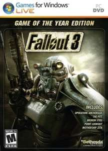 Fallout 3 - Game Of The Year Edition (Steam) £2.92 @ Instant Gaming (New Vegas UE £3.38)