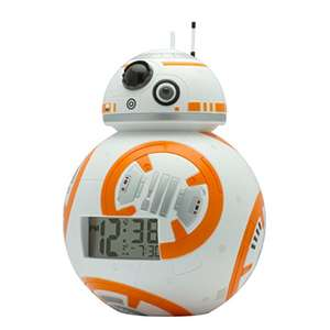 BulbBotz Star Wars BB-8 Kids Light Up Alarm Clock official - £12.49 ( Prime ) @ Amazon