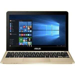 Refurbished A Grade: Asus VivoBook E200 11.6 Inch Atom 2GB 32GB Laptop - Gold + Free delivery + 12 Months Argos warrenty Ebay for £99.99