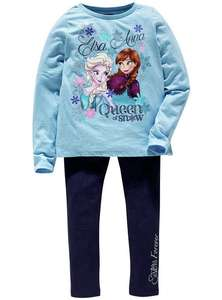 Frozen leggings and top set @ Argos for £5.99