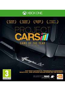 Project CARS - Game of the Year Edition - Base.com (Xbox One 16.49) (PS4 - 17.99)