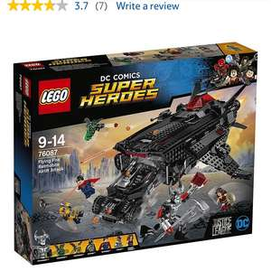Lego 76087 flying fox £65.99 at Tesco and 1000 club card points