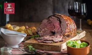 Carvery & Drink for 4 £20 (£5 p/p) @ Toby Carvery/Groupon (Using code)