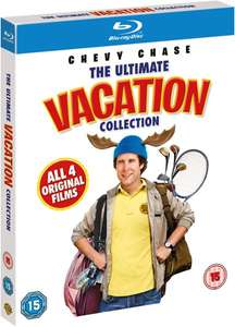 National Lampoons Vacation Box Set Blu-ray  4 Film Box-set includes National Lampoon's Christmas Vacation Zavvi £8.09