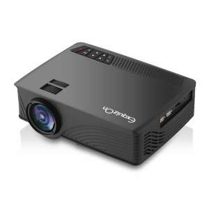 ExquizOn GP12 Home Video Projector with 1200 Lumen LED Multimedia Portable Projector for Home Cinema Theater Entertainment Sold by ExquizonEU and Fulfilled by Amazon for £36.99