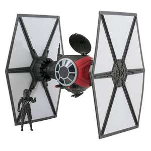 Star Wars The Force Awakens Vehicle First Order Special Forces Tie Fighter - at Smyths for £9.99