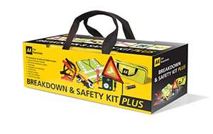 AA 5618 Breakdown and Safety Kit Plus @ Amazon for £26.54