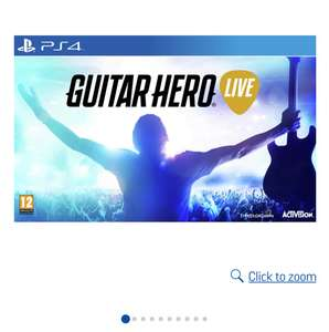 Guitar hero live ps4 at Argos for £14.99