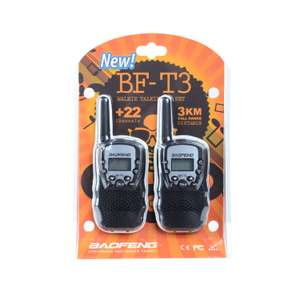 Flash sale save 32%, Baofeng long distance walkie talkies, £9.78 delivered @ gearbest.