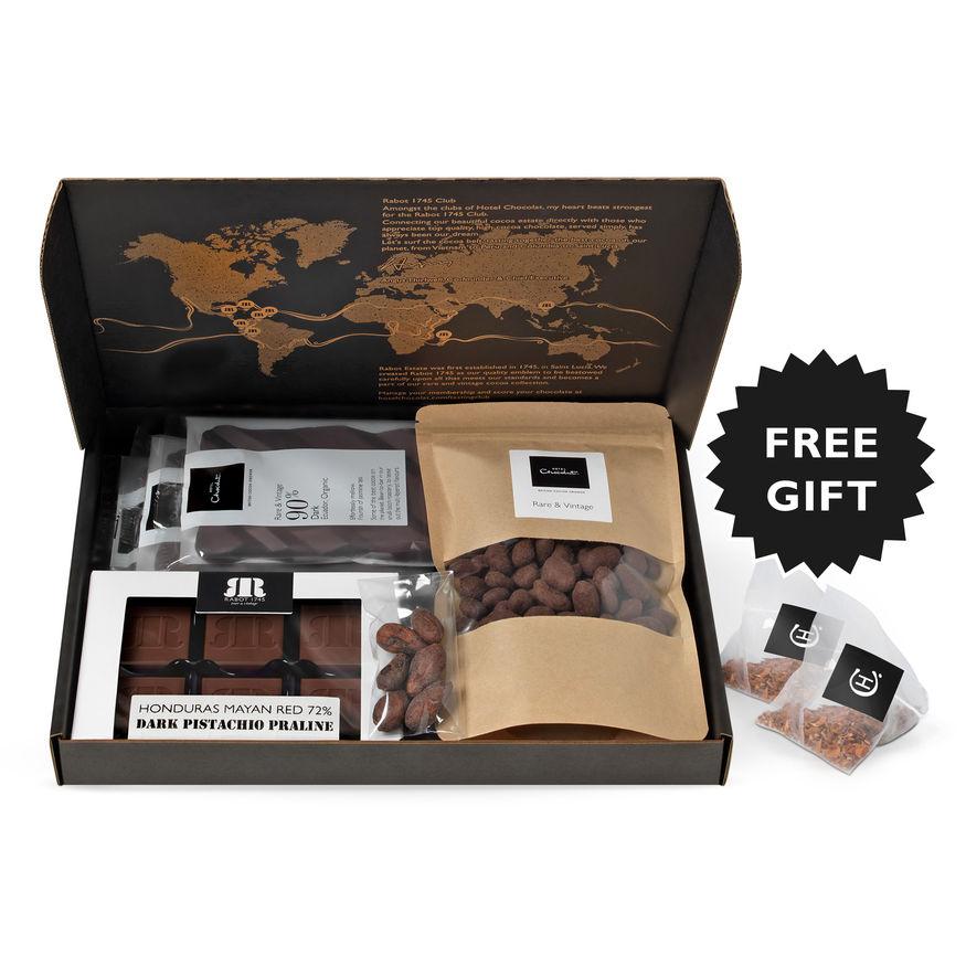 Free box of chocolat + £4.50 Quidco Cashback @ Hotel Chocolate