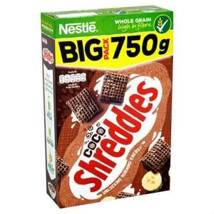 Nestle Coco Shreddies Cereal (750g Box) ONLY £1.00 (INSTORE and ONLINE) @ Poundland