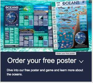 Free Blue Planet Poster and Game