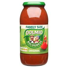 Dolmio Large Jars of Sauces (710g / 750g) was £2.55 now £1.50 (Rollback Deal) @ Asda