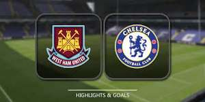 West Ham 1 v Chelsea 0 FREE on SKY One