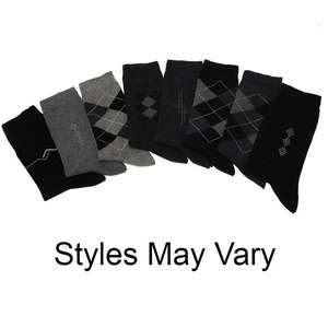 Giorgio 4 Pack Mixed Socks Mens £2 / £6.99 delivered @ Sports direct