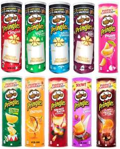Pringles 200g Tubs 10 Flavours reduced to £1 @ Tesco