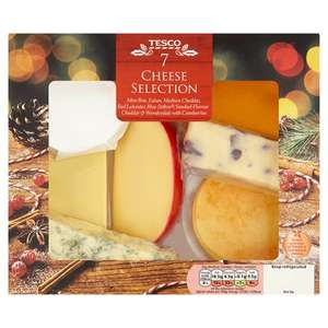 Tesco 7 Cheese Selection Pack 560G £5