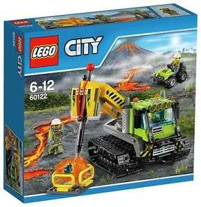 **Low Stock** LEGO City 60122 Volcano Crawler £16.99 Delivered @ Argos Ebay