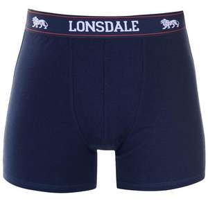 Lonsdale Mens boxers 2 pack £8 each or 2 for £12 @ Sports Direct - £4.99 del / c&c