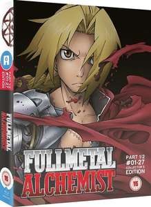 Fullmetal Alchemist Part 1 Blu-ray Ltd Ed - Was £59.99 now £14.99 - One day deal @ All The Anime