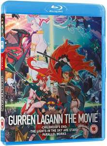 Gurren Lagann Movie Collection Blu-ray - Was £24.99 now £9.99 - One day deal @ All The Anime