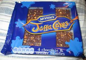"Jaffa Cake ""Blondies"" (Vanilla Brownie) 59p @ Heron"