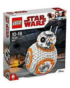 Star Wars BB-8 Lego. £42.50+ free C&C or £3.50 delivery @ JD Williams. With code (more in OP)
