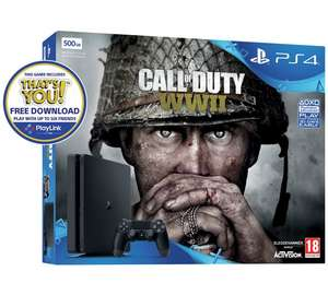 PS4 500GB COD Bundle + Extra DS4 controller (black or white) + selected Playlink game + Triple Nectar Points - £229.99 @ Argos