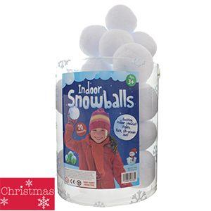 20 Indoor Snowballs - £3.99 @ Home Bargains