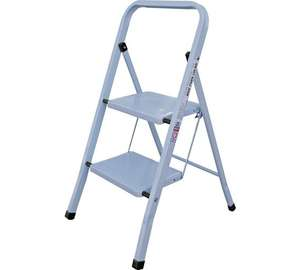 Simple Value Range 2 Step Steel Ladder now £9.99 @ Argos (Also 3 Step Steel Value Ladder £14.99)