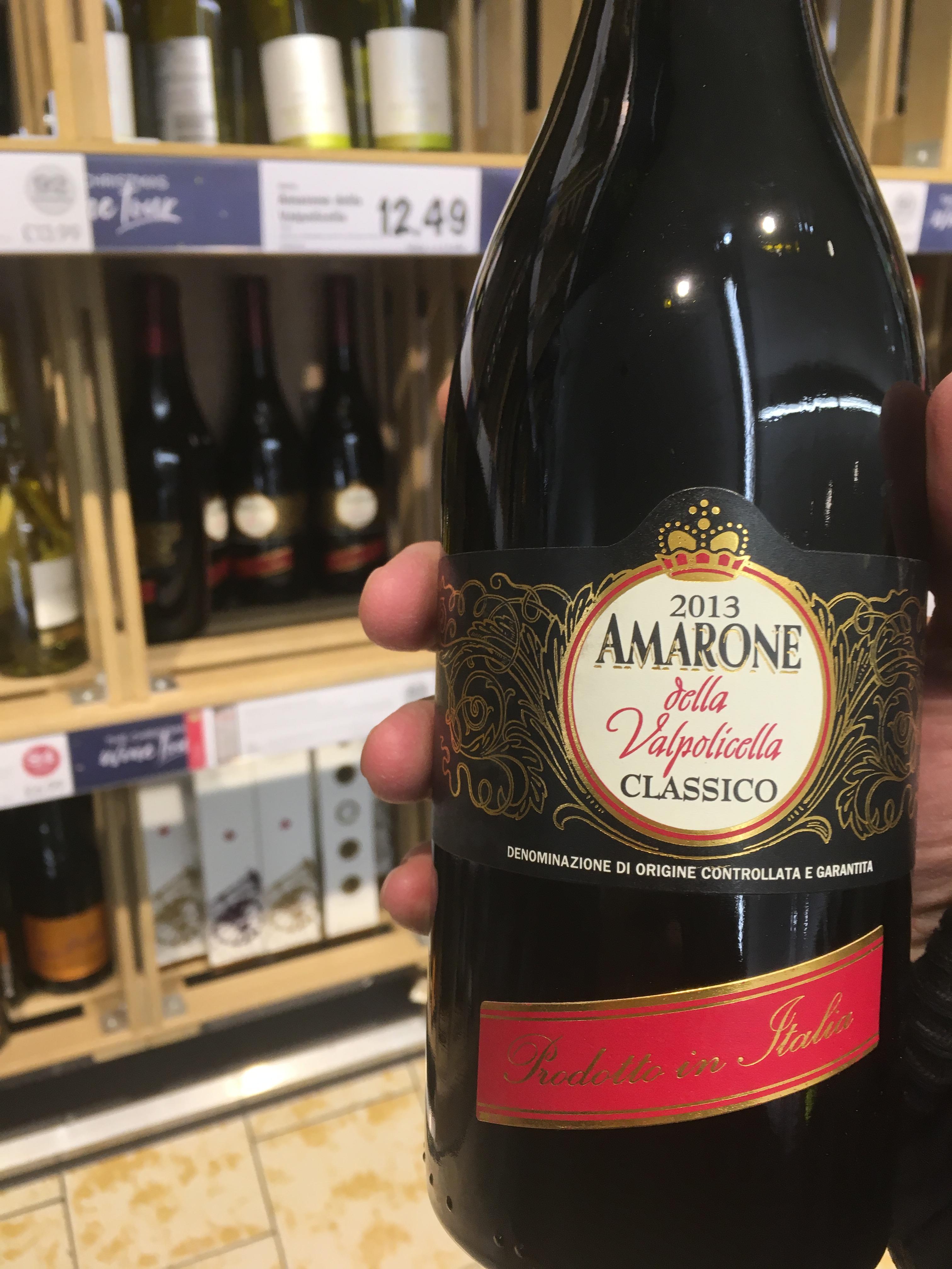 2013 Amarone della Valpolicella Red Wine £3.99 @ Lidl