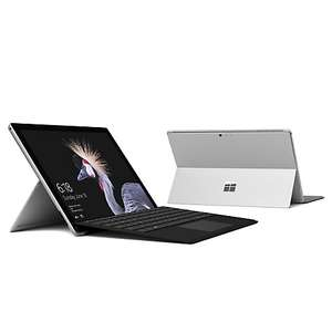 Microsoft Surface Pro Tablet, Intel Core i5, 4GB RAM, 128GB SSD, Microsoft Surface Pro Type Cover, Black, Bundle with 3 years JL Guarantee £799