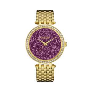 Caravelle New York (Bulova Brand) Women's' Crystal Wristwatch (44L212) was £99 now £35 Del @ H.S Johnson