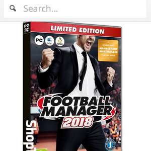 Football manager 2018 £19.85 @ Shopto