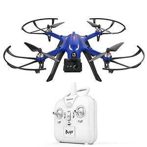 Monster Blue Bugs 3 High-Speed MJX Quadcopter Drone with Flying Time Supports GoPro HD Camera £69.99 + Free Delivery in the UK @ Sold by ST. Direct EU and Fulfilled by Amazon.