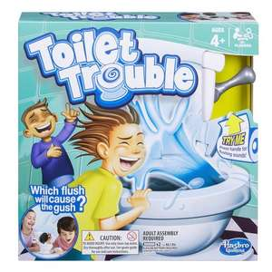 Toilet Trouble Game £17.99 In stock at smyths - Free c&c